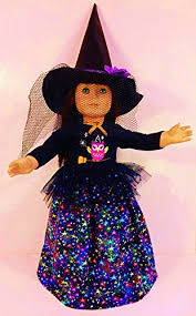 Doll Dress Halloween Costume Amazon Witch Costume Fits American Doll 18 Doll