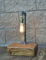 edison lamp steampunk lamp upcycle decor desk lamp
