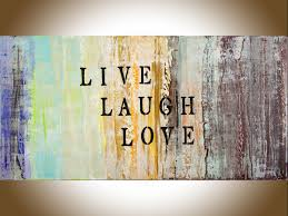 Wall Art Home Decor Live Laugh Love By Qiqigallery 48