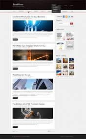 slidebox html template blog style website templates
