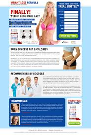 great landing page design templtes layout example that delivers leads