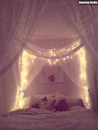 Diy Canopy Bed With Lights Diy Canopy Bed Lights
