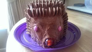 hedgehog birthday cake recipe russellskitchen