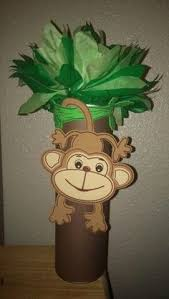 Safari Baby Shower Centerpiece by Tyler U0027s Monkey Party Monkey Baby Monkey And Babies