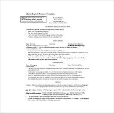 free chronological resume template free chronological resume template collaborativenation