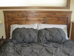 decorative ana white reclaimed wood headboard queen size diy