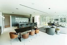 salon et cuisine moderne salon et salle a manger design idées décoration intérieure