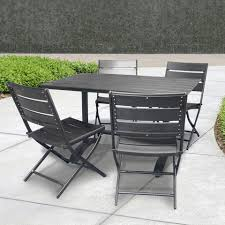 Folding Patio Chair by Furniture Metal Folding Patio Table And Chairs Folding Outdoor