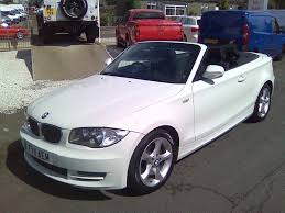 1 Series Convertible Used Bmw 1 Series Convertible 2 0 118i Sport 2dr In Dumbarton
