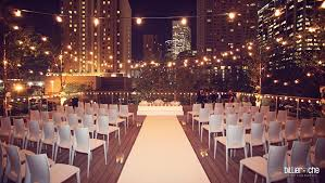 weddings in houston wedding at the grove houston downtown treehouse deck this is
