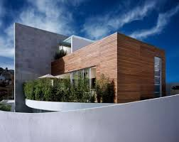 exterior minimalist home plant design with trendy design of cube minimalist home plans cool modern minimalist home idea with brown wood siding wall and grey