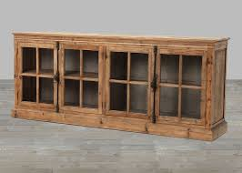 Vintage Windows For Sale by French Casement Window Bleached Pine Sideboard