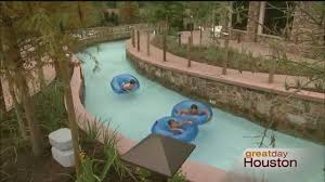 great day houston floats the new lazy river at the woodlands