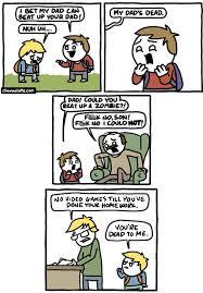 Dad Comic Meme - my dad can beat up your dad web comics 4koma comic strip