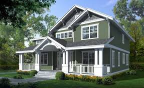 craftsman style house plans two story pictures of craftsman style homes with green wall paint color