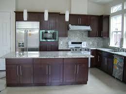 Dark Shaker Cabinets Shaker Cabinet Hardware Kitchen - Kitchen cabinets espresso