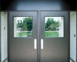 Exterior Aluminum Doors Flushline Commercial Aluminum Flush Panel Door Entrances By Kawneer