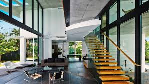 eco haus living stunning di lido island house merges miami modernist architecture