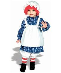 raggedy ann kids costume girls halloween costumes