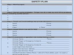 safety plan template safety plan template 1 safety plan template