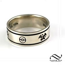 nerdy wedding rings handmade custom wedding band by earth gem jewelry