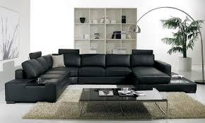 Alluring Modern Living Room Sets Black Black And White Living Room - Modern living room set