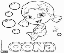 free bubble guppies coloring pages bubble guppies coloring pages printable games