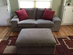kivik sofa cover ikea kivik sofa and footstool with storage 395 se portland