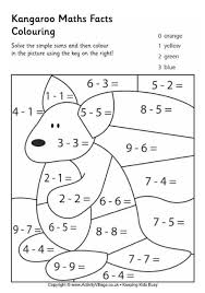 34 best soustractions images on pinterest colouring pages math