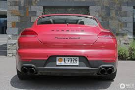 porsche panamera matte red porsche 970 panamera turbo s mkii 11 june 2016 autogespot