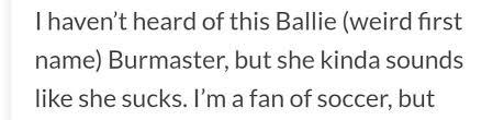 baillie burmaster who kinda sounds like she bayburmtv