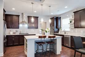 savoy house vintage mini pendants over the kitchen island of the