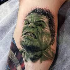 100 incredible hulk tattoos for men gallant green design ideas