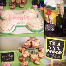 dog birthday party it s a pawty a dog s birthday party sweet savory