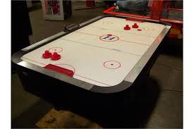 used coin operated air hockey table air hockey table harvard full size home use item is in used
