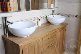 Double Vanity Units For Bathroom by 50 Off Double Sink Vanity Unit With Oak Bathroom Cabinet Finesse