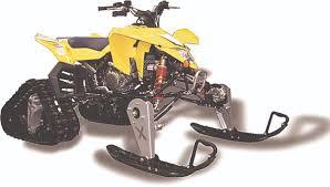jeep snow tracks snow track kits for quads u0026 utvs u2013 dirt wheels magazine