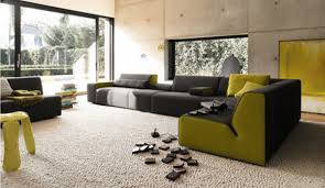 elegant contemporary living room furniture with variety of hues