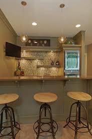 Under Counter Corbels Corbels Under Shelves Home Bar Transitional With Beverage Cooler