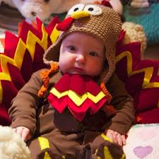 babies in thanksgiving turkey costumes popsugar