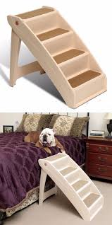 Dog Steps For High Beds Large Pet Stairs Tall Pet Stairs Foter Dog Stairs For Large Dogs