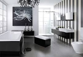 Black And White Bathroom Decorating Ideas by Bathroom Vintage Bathroom Style Come With Glass Rectangle Shower