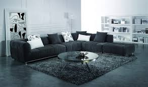 Black Fabric Sectional Sofas Sectional Sofa Design Sle Modern Fabric Sectional Sofa