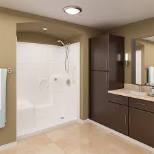 Bathroom Shower Stalls With Seat Walk In Showers Shower Stalls Kits Ella S Bubbles