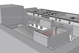plan cuisine professionnelle plans 2d et 3d cuisine pro 64 côte basque