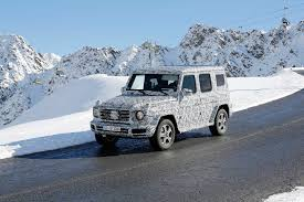 mercedes g class 2016 2017 mercedes benz g class spy shots in the alps gtspirit