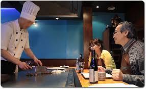 restaurant japonais cuisine devant vous cuisson à la plancha restaurant japonais teppanyaki sushi à 17