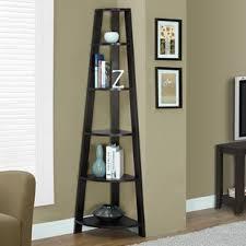 corner bookcase corner bookcases you ll wayfair