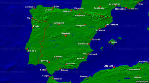 Cordoba Spain Map by Primap National Maps