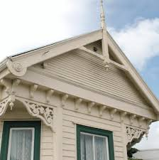 decorative gable trim iron